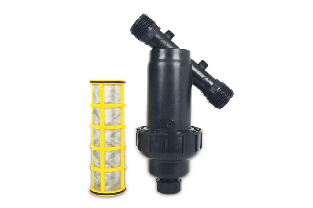PP Y-Filter mit Ersatzfilterkartusche